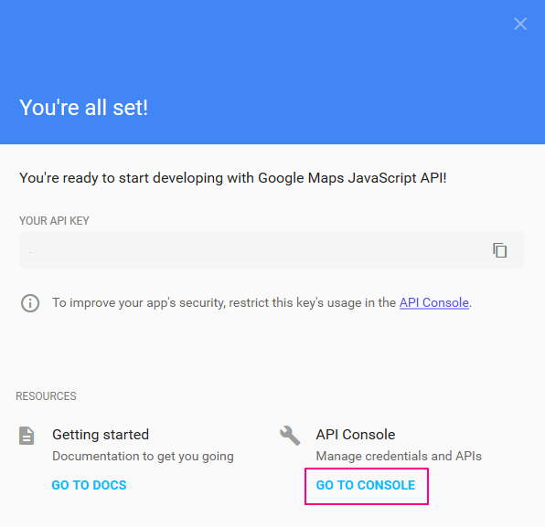 Google-Maps-API-Key-Go-to-Console
