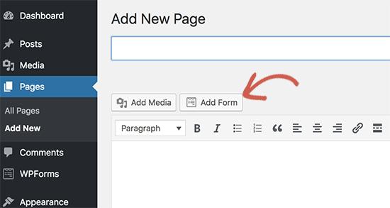 اضافه کردن فرم سازگار GDPR به پست ها و صفحات وردپرس