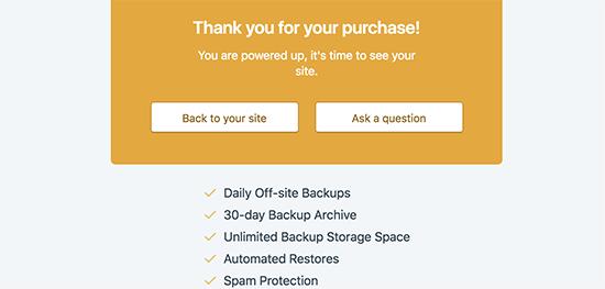 پشتیبان گیری از وردپرس با استفاده از JetPack