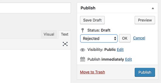 روش 2. ایجاد وضعیت پست سفارشی با استفاده از کد