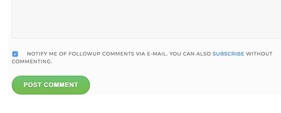 یک جعبه اشتراک برای نظرات در وردپرس اضافه کنید