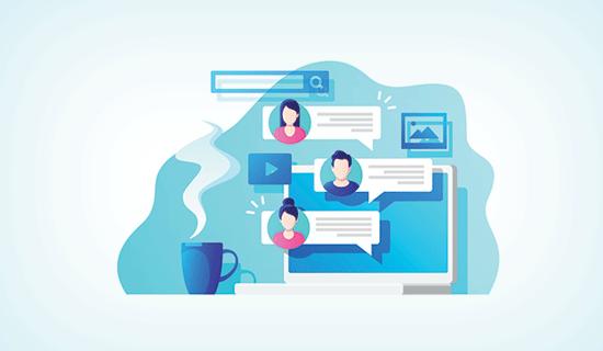 9. یک شرکت فعال در جامعه آنلاین باشید